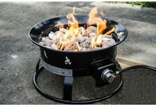 Outdoor Fireplace Propane Gas Fire Pit Pits Backyard Patio Camping Burns Clean