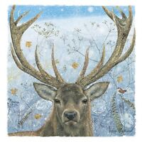 Charity Christmas Card Pack - Majestic Stag (10 Cards of 1 Design)