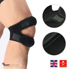 Knee Support Open Patella Brace Pain Relief Strap Running Injury Adjustable Gym
