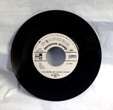 The Eddie Hill Trio 45 - I'm Gonna Be Loser Again / I Cried - Columbia Promo, EX