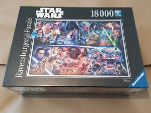 Ravensburger 178278 Star Wars Galaktische Zeitreise 18.000 Teile NEU 18000