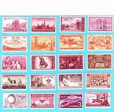 US STAMPS  Vintage  Classic  Collection    3c COMMEMORATIVES   1930s -50s