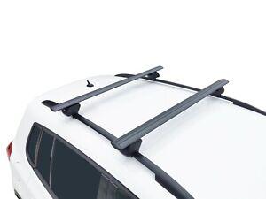 Alloy Roof Rack Cross Bar for Nissan X-trail T32 2014-21 Black 135cm