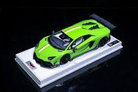 1:18 HH Lamborghini Aventador DMC Lp988 Green. Not Mr BBR Autoart Makeup