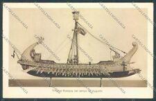 La Spezia Città Museo Navale Trireme Romana cartolina ZT7005