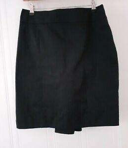 Karen Millen Womens Smart Career Party Skirt Black Size 12~New