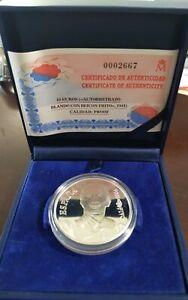 SELF-PORTRAIT Salvador Dali €10 Euro silver coin Spain 2004