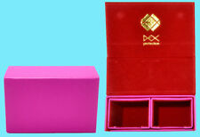 DEX PROTECTION DUALIST PINK DECK BOX 120 SMALL Card Storage Dual Case Yugioh