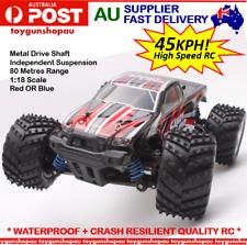 RC Car High Speed 1:18 2.4G 4x4 RC Car 4WD Racing Off-Road RC Car 45km/h Black