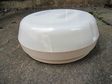Newlec NL 10597 External Bulkhead  White Round Opal Diffuser High Frequency 16W