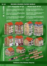 Livre maquette N n°10 - Immeubles et maisons de banlieues
