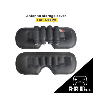 PU Dustproof Lens Protector Antenna Storage Cover for DJI FPV Goggles VR Glasses