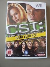 WII e wii u: CSI Crime Scene Investigation: prove concrete: OTTIME