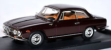 Alfa Romeo 2000 SPRINT COUPE 1960-62 Dark Buby Red 1:43 Bang