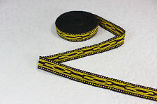 Handwoven Trim (6 yards), Border, Ribbon, Border Trim, Ikat Fabric, R382