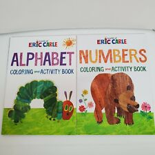 World of Eric Carle - Coloring & Activity Book - (Set of 2 - Numbers & Alphabet)