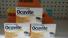 Bausch + Lomb Ocuvite Lutein & Zeaxanthin Capsules 36 Count exp 07/17 Eye Vitami