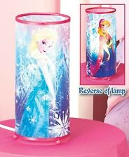 (1) Disney Frozen Cylinder Table Lamp Anna Child's Bedroom Home Decor