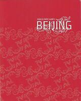 2008 PRESENTATION STAMP PACK 'BEIJING 2008 OLYMPICS' INC MINI SHEET 10 x 50c MNH