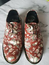 Dr Marten 1461 Floral Shoes Size 8 Excellent