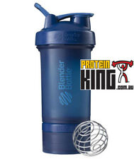 BLENDER BOTTLE PROSTAK 500ML NAVY PROTEIN SHAKER CUP BPA FREE PRO STAK 16 OZ