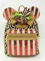 Disney Minnie Mouse The Main Attraction Loungefly Jungle Cruise Backpack LR A