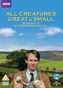 All Creatures Great & Small Series 4 - 7 including Christmas Special DVD NEW