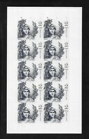 $2 2018 Statue/Freedom #5296; EFO; Sheet/10 w/Shifted Diecut; ~50% Captured PL#s