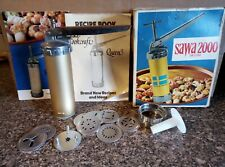 Sawa 2000 Deluxe Cookie Press in Box - Made in Sweden - Never Used