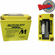 Motobatt MB12U Upgrade Motorcycle Battery Replaces YB12A-A, YB12AL-A2, YB12A-B