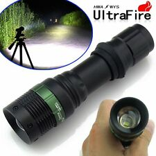 Ultrafire CREE XM-L T6 5000 Lumen LED Flashlight Tactical Zoomable Torch Lamp