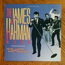 JAMES HARMAN BAND / THOSE DANGEROUS GENTLEMEN'S ~ 1987 Rhino Album ~ NEAR MINT