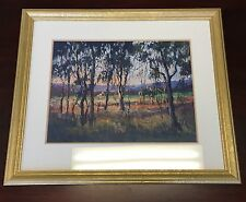 "Original Pastel Painting By Shirley Strafford ""Late Afternoon"""