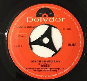 Babylon - Into The Promised Land Rare 1969 Psych !!