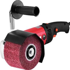 Satiniermaschine Schleifer Bürstenmaschine Polierer Stabilität einstellbar