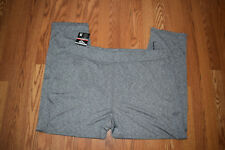 Nwt Mens Pony Steel Gray Flex Fabric Straight Leg Relaxed Fit Active Pants L