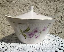 Sopera antigua en porcelana Gien Chevreuse