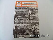CARTE FICHE CINEMA 1895 L'ARROSEUR ARROSE Francois Clerc Duval