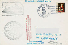 Polarpost USA: LINDBLAD TOURIST EXPEDITION 1969 - USCGC EDISTO