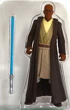 """Loose Mace Windu 3 3/4"""" Star Wars Figure Episode 1 Sneak Preview 1998"""