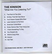 (DE546) The Kinison, What Are You Listening To? - DJ CD
