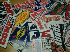 Lot of 20+ Racing Decals Stock Car Nascar Dragster Stickers Street Outlaws