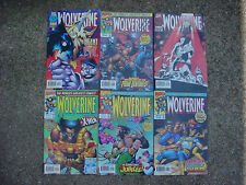 MARVEL WOLVERINE ISSUES from 96 97 XMEN