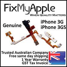 iPhone 3GS 3G OEM Power Headphone Jack Audio Volume Mute Button Flex Cable Black