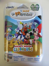 Vtech V.smile Motion Active Learning System - Mickey Mouse Club House Ages 4-6Y