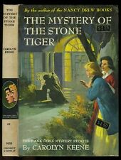 Dana Girls: (#25) Mystery of the Stone Tiger PC early (1963)