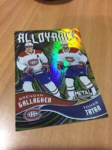 20-21 UD NHL Metal Universe Sky Box Alloyance AL-7 Gallagher/Tatar