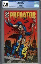 Predator #1 RARE 2nd Print Variant CGC 7.0 FN/VF 1st Predator Appearance