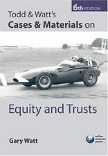 Todd & Watt's Cases & Materials on Equity and Trusts-ExLibrary