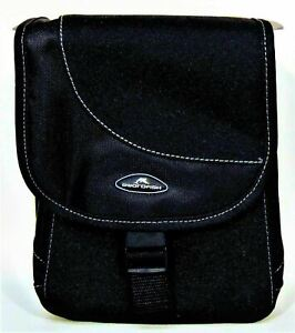 Black CASE/BAG for DSLR SLR Bridge Digital Compact Camera Shoulder Strap PADDED